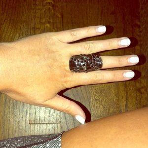 Beautiful black ring